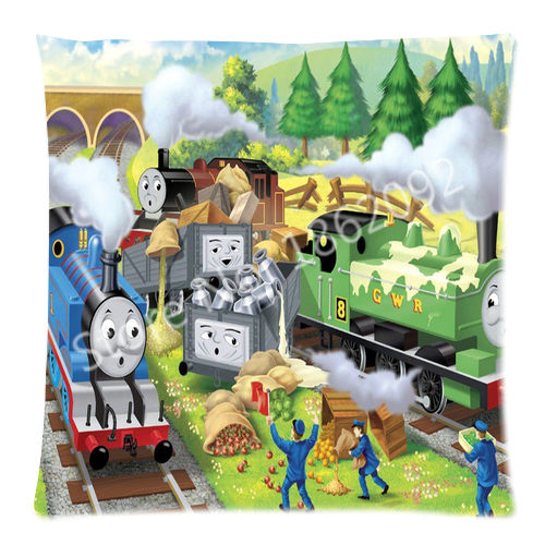 Thomas The Train Pillowcase Simple Hot Thomas And Friends Cushion Cover Thomas The Tank Engine Train