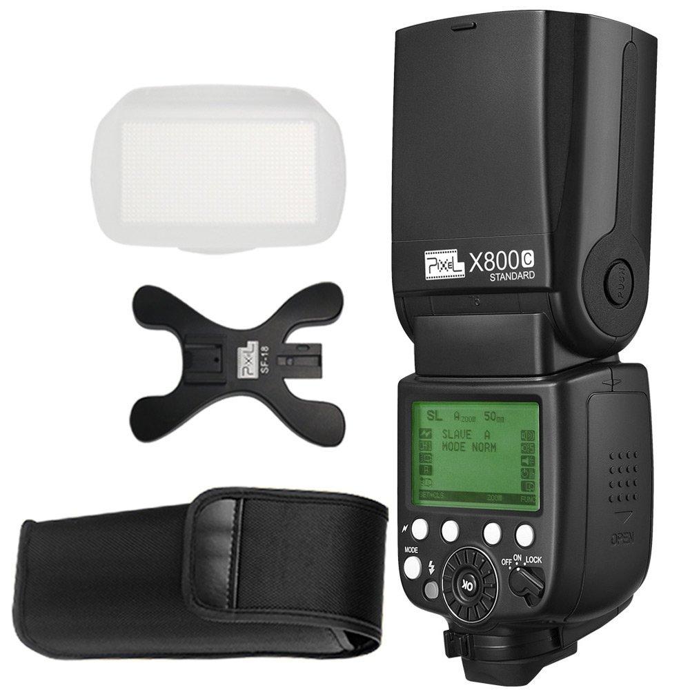 INSEESI Standard X800C X800N X800S GN60 Bezdrátový TTL HSS Flsh - Videokamery a fotoaparáty - Fotografie 6