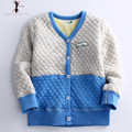 Winter New Arrival Warm Single Breasted V-neck Winter Coat Children's  Clothing Kids Coat 8706
