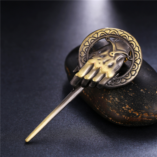 MOSU 20/pcs Game of Thrones Song of Ice and Fire Brooch Hand of the King Lapel Inspired Authentic Prop Pin Badge Brooches