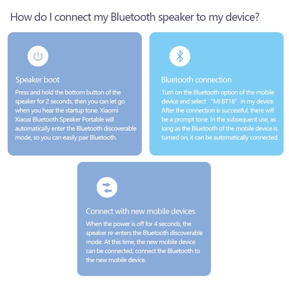 Xiaomi AI Altavoz Bluetooth portátil 8