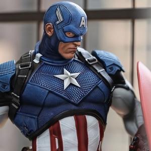 Image 2 - Comic version Captain America 21 inch  53cm*25cm*28cm  statue PU