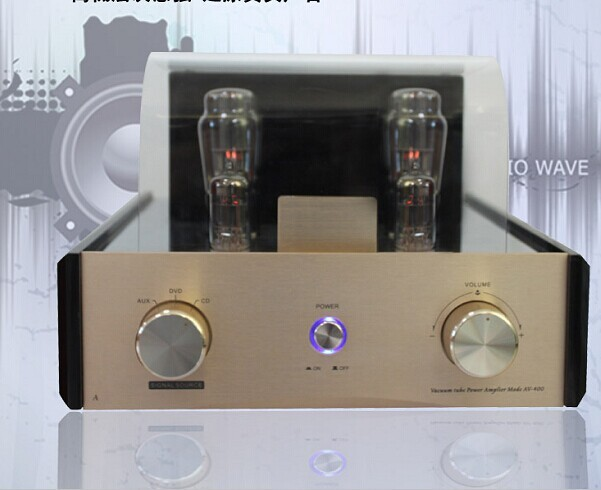 latest Top quality 2.0CH Hifi vacuum tube amplifier stereo tube amp high powerful tube amplifier 38x2W