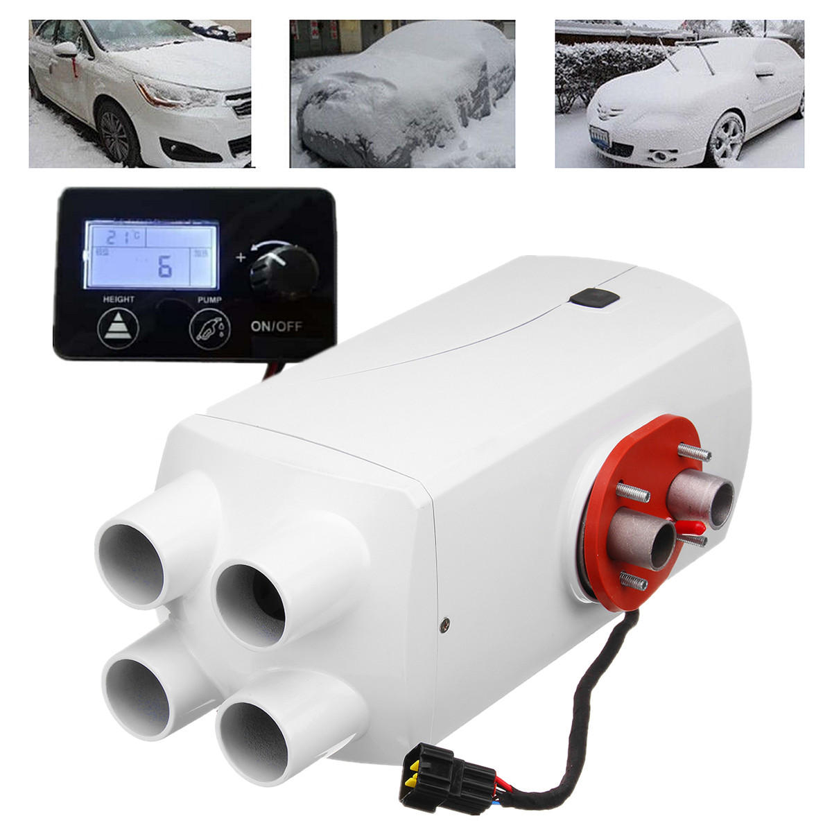 5000W/8000W Diesel Air Parking Heater 4 Holes Aluminum Alloy Diesel Heating Parking Air Heater5000W/8000W Diesel Air Parking Heater 4 Holes Aluminum Alloy Diesel Heating Parking Air Heater