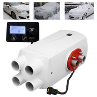 5000W/8000W Diesel Air Parking Heater 4 Holes Aluminum Alloy Diesel Heating Parking Air Heater
