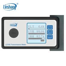 Тинт-метр LS160 Linshang портативный солнечный пленочный трансмиссионный измеритель тест оконный ТИНТ УФ ИК отбракованный Видимый светильник пропускаемость