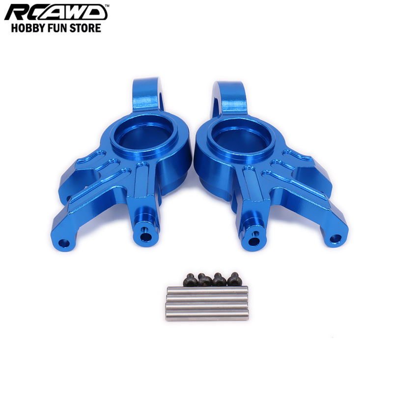 1/5 1/6 Traxxas X-MAXX Steering Hub Steering Knuckle Blocks Set For Rc Car 7737 7740 7743 Brushless Electric Monster Truck metal steering arm assembly for traxxas x maxx 1 5 scale monster truck 6061 t6