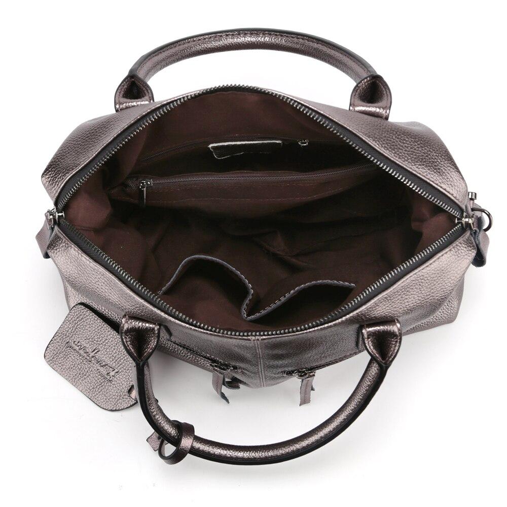 2017 couro genuíno boston mulheres Bag Estilo 1 : 2017 Fashion Genuien Leather Women Handbag