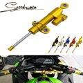 Universal de la motocicleta amortiguador de dirección para kawasaki zx6r zx7r zx9r zx10r er6f er6n z1000 z750 z800 z250 z300 envío gratis