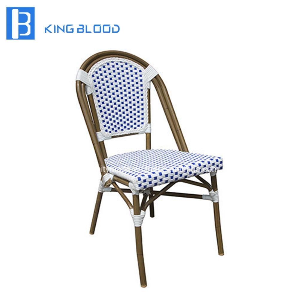 Chaise en osier de loisirs en aluminium chaise en bambouChaise en osier de loisirs en aluminium chaise en bambou