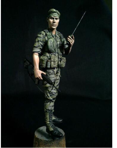 1/16 111mm Scouts Soldier In (Vietnam) 111mm  Resin Model Miniature  Figure Unassembly Unpainted