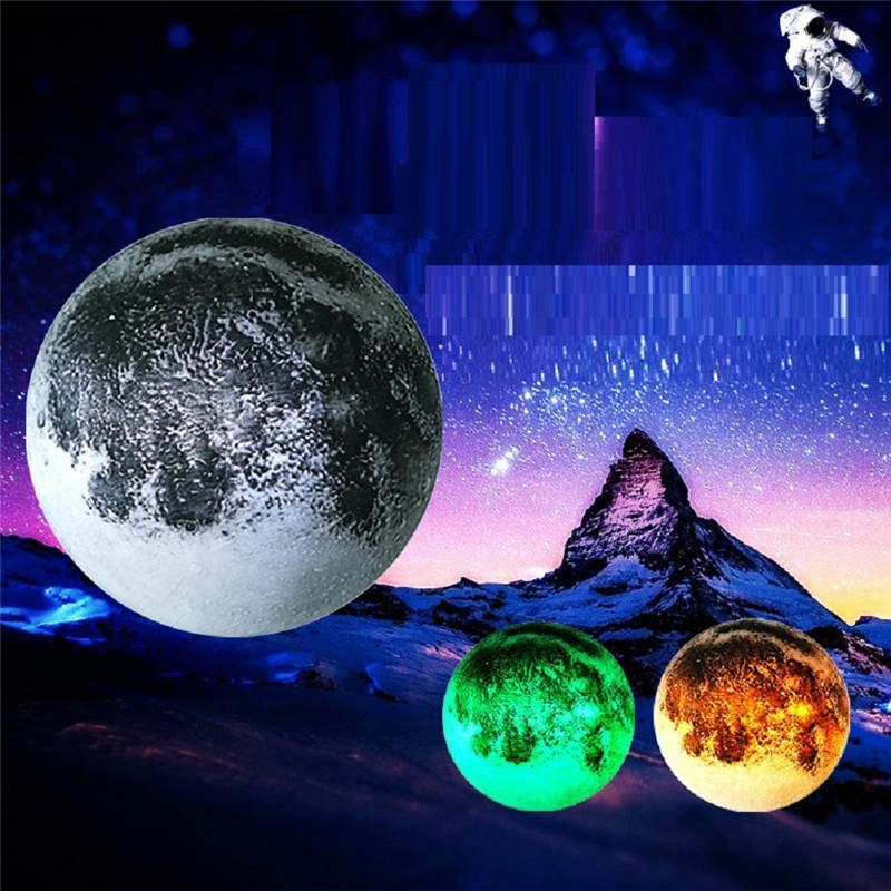 Upgrade Led Wall Moon Lamp/Lights For Bedroom/Children'S Room Remote Control Night Light For Girls Healing Moon Bedside Lamp zelda laptop backpack bags cosplay link hyrule anime casual backpack teenagers men women s student school bags travel bag