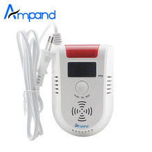 LED Digital Display voice Gas alarm system LPG Household Leakage Detector Sensor 1pcs Detect natural gas coal gas