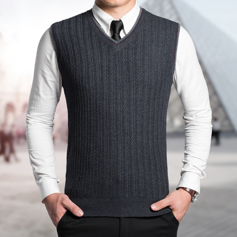 Knitting Pattern Mens Sleeveless Vest : sweater vest Picture - More Detailed Picture about 2016 Latest Style Fashion ...