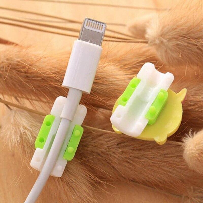 Прямая поставка, аксессуары для путешествий, милые животные, устройство для сматывания кабеля, защита для наушников, USB линия, аксессуар для телефона, держатель, упаковочные Органайзеры
