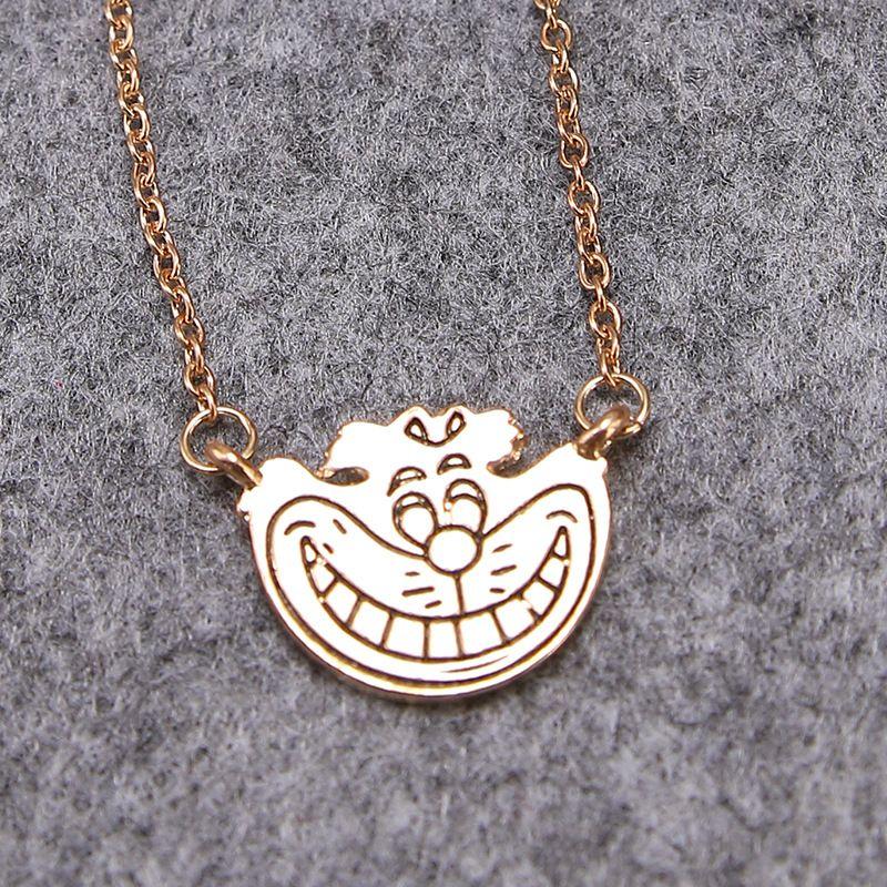 Hot Sales Happy Doraemon Pendant Necklace Wholesale Jewelry Wholesale Good Luck Pendant Necklaces