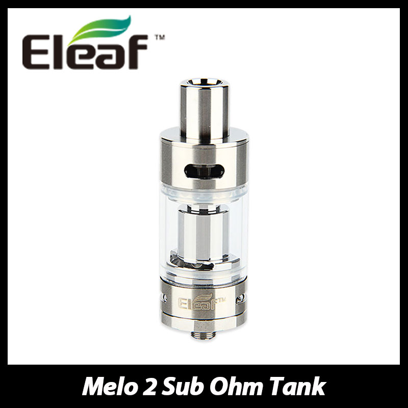 100 Original Eleaf Melo 2 Atomizer Tank 4 5ml Adjustable Airflow Subohm Melo II Atomizer Electronic