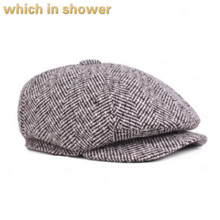 which in shower warm winter duckbill cap casual striped bere