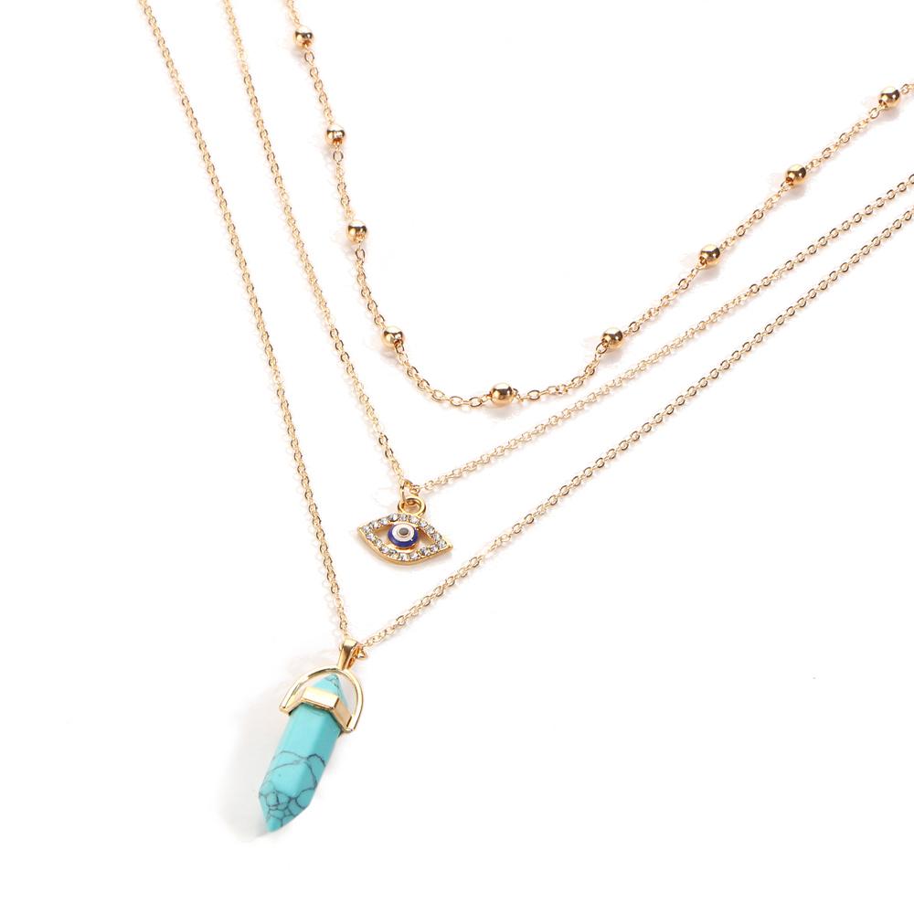 HTB1T0bHQVXXXXXWaXXXq6xXFXXXn - Vintage Opal Stone Chokers Necklaces