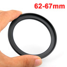 10pcs Camera Lens Adapter Ring For Canon Camera 62mm-67mm Filter Thread Lens Camera Accessories