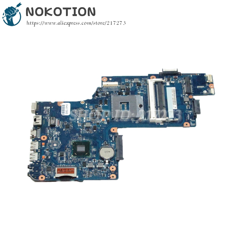 NOKOTION H000038380 H000038370 Laptop Motherboard For Toshiba satellite C850 L850 Laptop Motherboard HM76 UMA HD DDR3 sheli v000275560 laptop motherboard for toshiba satellite c850 c855 l850 l855 6050a2541801 uma hd 4000 hm76 main board works