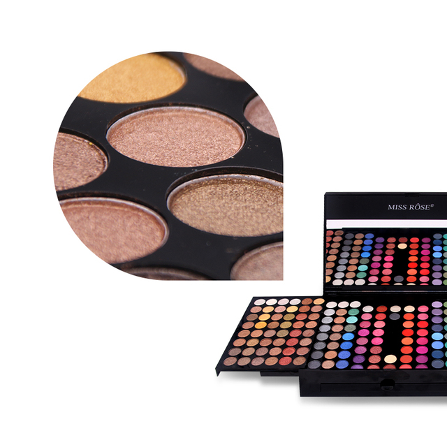 Miss Rose 190 Colors Palette Makeup Set 3