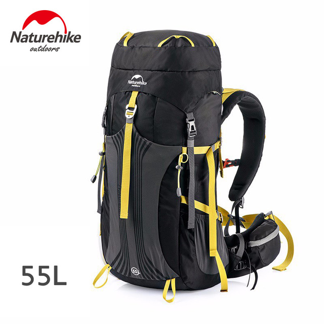 Naturehike 55L Backpacks - NH16Y065-Q Black