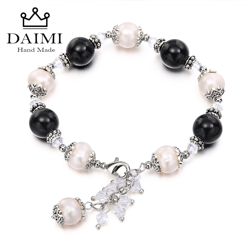 2016 Trendy Natural Pearl Bracelets Adjustable For Lady Summer Style Various Colors Are Available