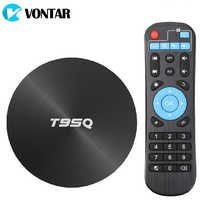 4GB 64GB Android 8.1 TV BOX T95Q Smart TV Box Amlogic S905X2 Quad Core 2.4G&5GHz Dual Wifi BT4.1 1000M H.265 4K Media Player