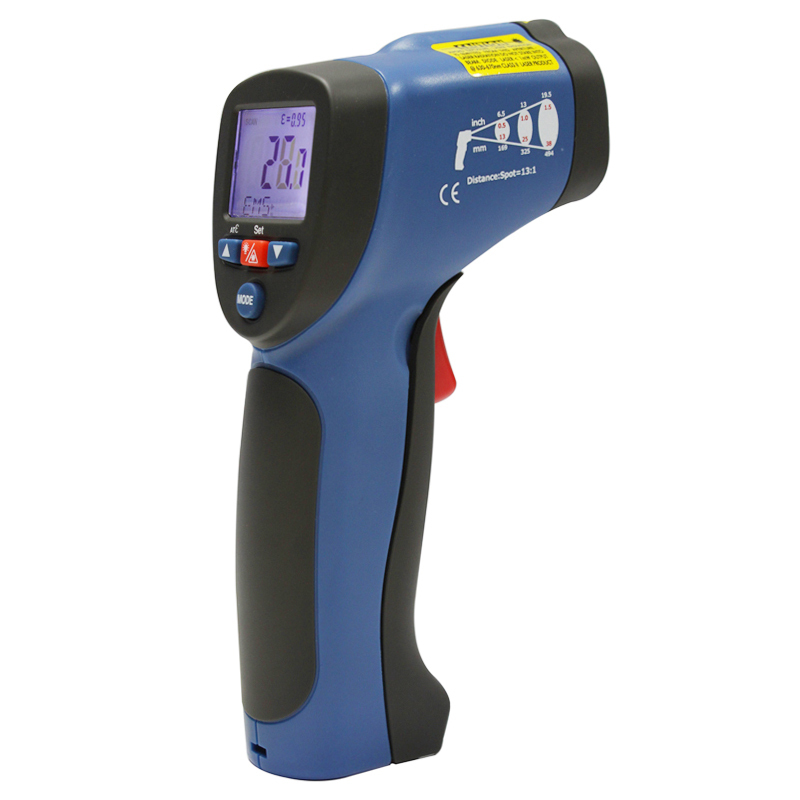 Infrared thermometer digital thermometer outdoor thermometer Industrial temperature measuring gun DT-8832 hp 920 pocket size digital infrared thermometer with measuring 50 920c