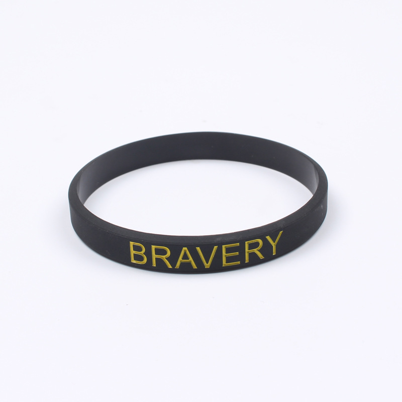 Fashion Letter Silicone Bracelet For Couple Women Men Girls Sport Wrap Cable Rubber Bracelets Inspirational Jewelry Christmas