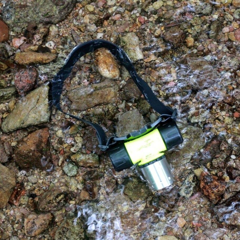 Yupard XM-L2 T6 LED Diver Tauchen scheinwerfer Taschenlampe Wasserdicht swiming scheinwerfer 18650 batterie AAA weiß gelb licht