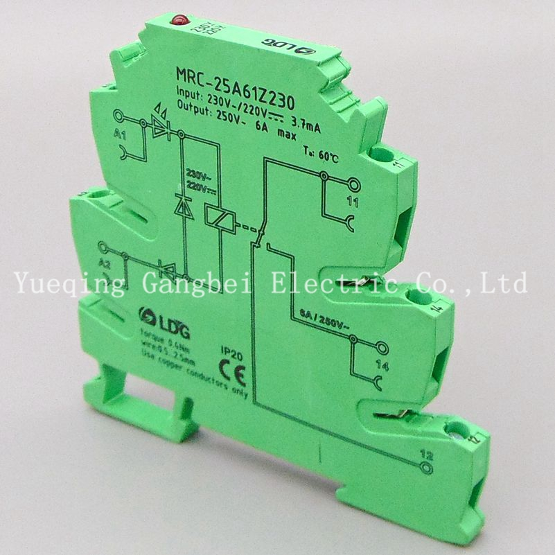 цена на 230V PLC relay output amplifier board relay module ultra-thin relay module