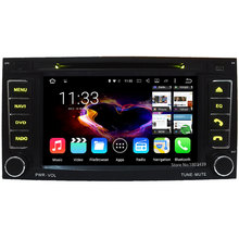 Quad Core Android 5.1.1 7″ 1024*600 Car DVD Player Radio PC Audio Stereo Screen For Volkswagen VW Touareg 2004-2011 T5 Multivan