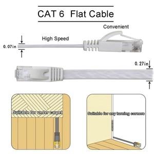 6 PACKE Ethernet Cable RJ45 la