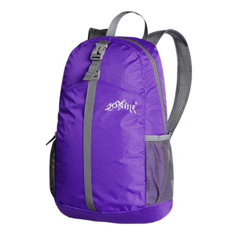 20L Super Sport Molle Lightweight Folding Shopping Backpack Rucksack Picnic Travel Bag Camping