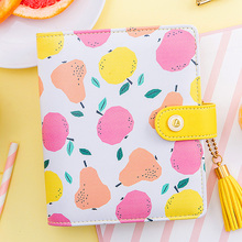 Ограниченное предложение Lovedoki Korean cute Spiral Binder notebook A7 Planner 2018 creative school Stationery diary Notebooks & Journals for girls