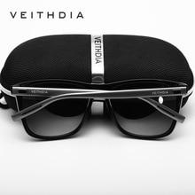 Unisex Retro Aluminum TR90 Polarized Lens Sunglasses
