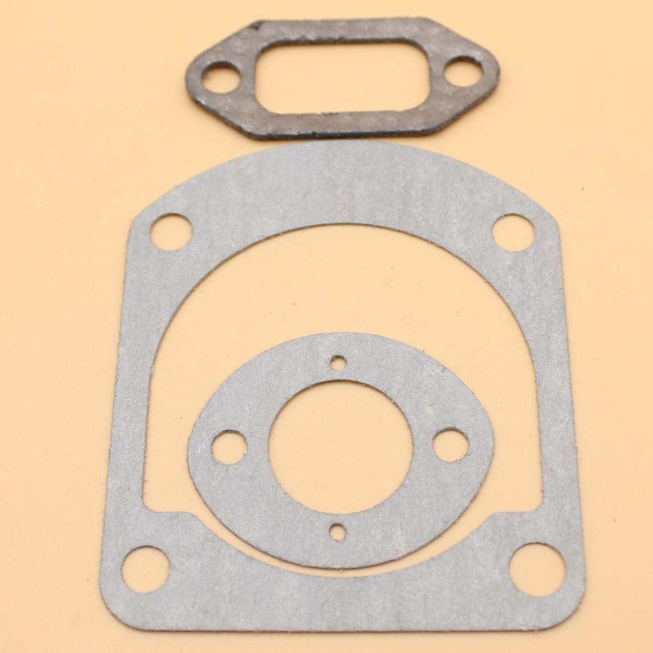 Cylinder Carburetor Muffler Gasket Kit For HUSQVARNA 61 66 266 268 272 JONSERED 670 630 625 670 Chainsaw