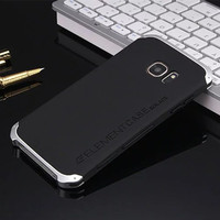 High Quality Mobile Phone PC Material Case With Aluminum Metal Frame For Samsung Galaxy S7 Protect