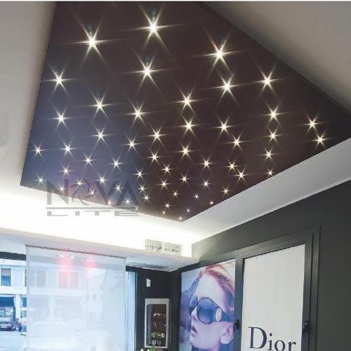 Send Recessed Lighting For Modern Interiors: Aluminum Silver Mini LED Star Light Constant Current Input