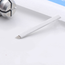 50pcs 7 Needle Eyebrow Tattoo Blades For 3D Embroidery Manual Microblading Pen Permanent Makeup For Tattoo Needles