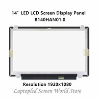 FTD ЖК дисплей 14 Replacemente светодиодный ЖК экран панель для B140HAN01.0 1920x1080 30 PIN (глянцевая)