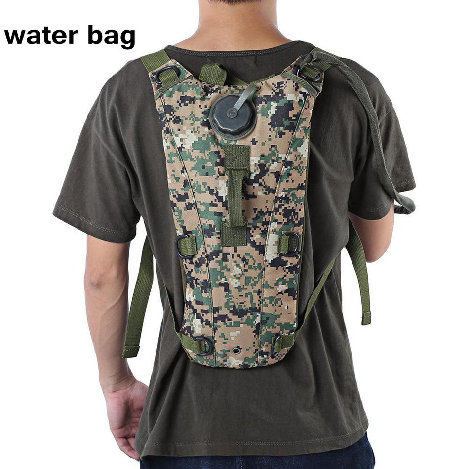 3l Water Bag Bottle Pouch Knapsack Military Tactical Hydration Backpack Outdoor Camping Bicycle Water Bladder Bag For Cycling Price Remains Stable