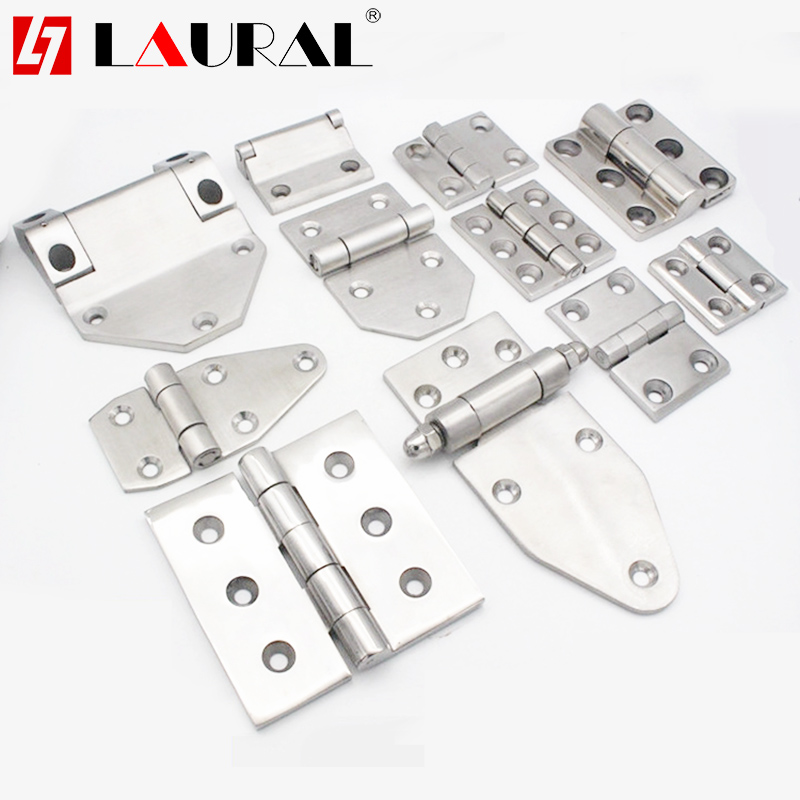 Stainless Steel 304 Increased Thickening Hinge Loop For Heavy Industrial Machinery Hardware Equipment Door Hinge