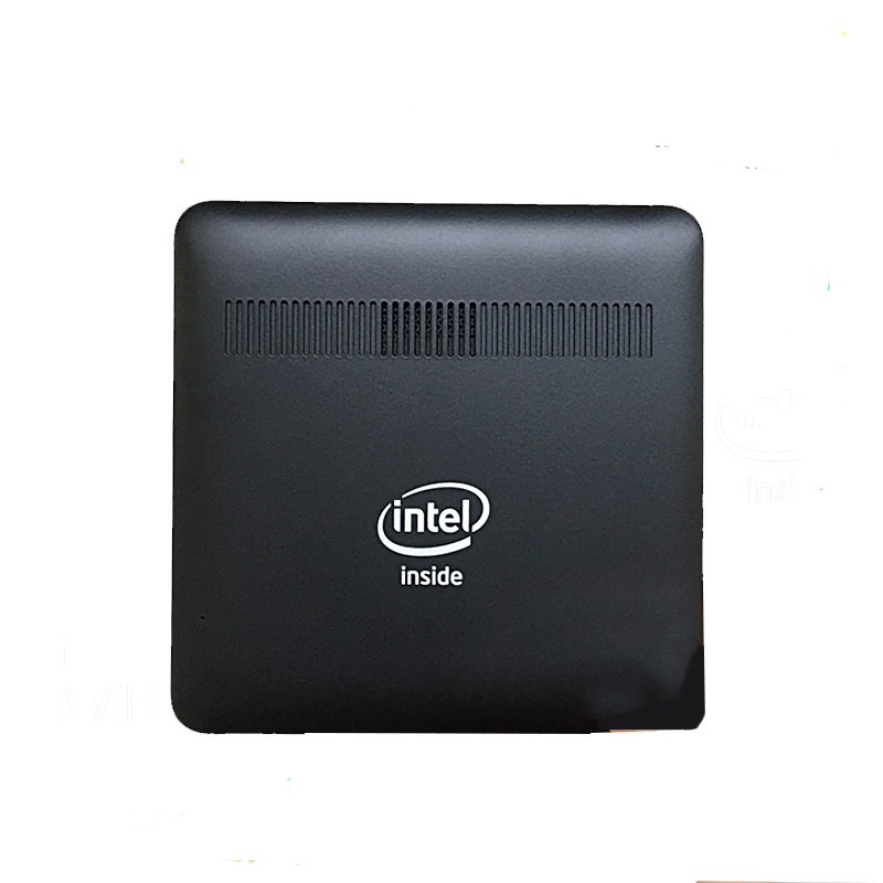 GZGMET Windows 10 pc Intel Z8350 Quad Core 2G RAM household Portable small size Pocket Desktop