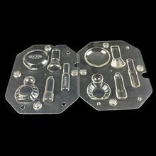 Valentinstag besonderes geschenk 3d DIY schokolade formen, Kosmetische Kit form polycarbonat schokolade formenbau gebäck süßigkeiten werkzeuge
