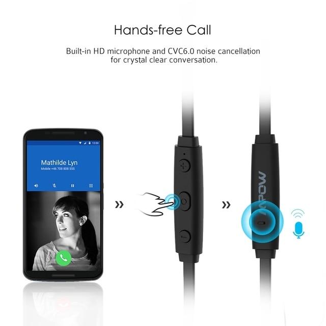 b528fdb0ddf ... MPOW Coach Wireless Earphone Bluetooth Headphones Sweat-proof Headsets  w/ HD Mic & CVC 6.0 Noise Reduction for iPhone. Previous. Next