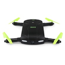DHD D5 Selfie Drone With Camera Foldable Pocket Rc Drones Phone App Control RC Helicopter FPV Quadcopter Mini Dron VS JJRC H37