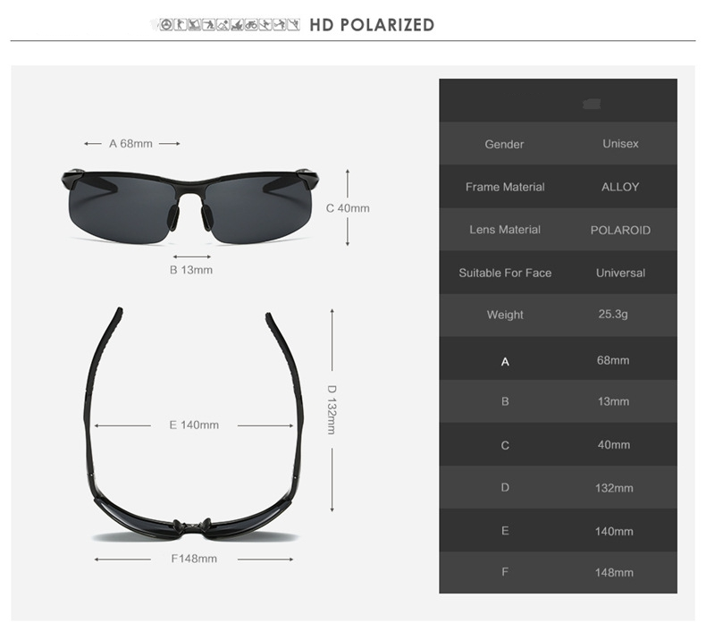 KH Change Color Photochromic Sun Glasses Men Driving Titanium polarized Glasses